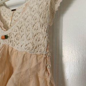 Free people knit blouse